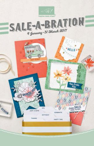 Sale-A-Bration 2017 Stampin' Up!