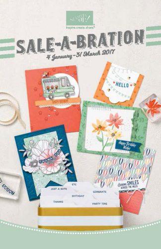 Sale-A-Bration 2017 Stampin' Up!