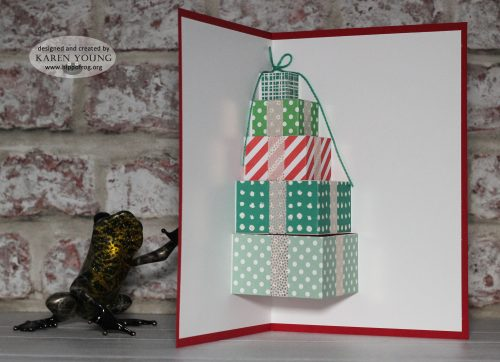 3D Present Card Stampin' Up!
