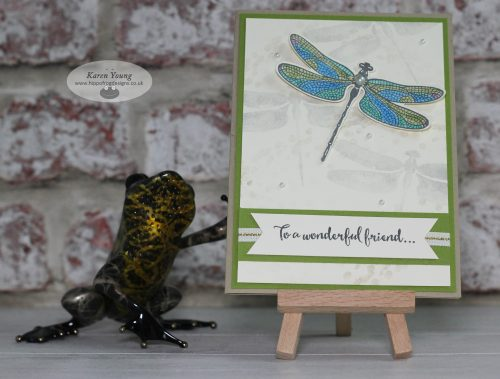 Card & Cuppa Dragonfly Dreams Stampin' Up!