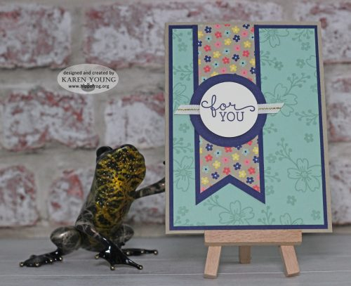 Card & Cupp Affectionately Yours Stampin' Up!