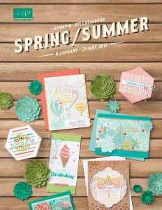 Stampin' Up! Spring/Summer Catalogue 2017