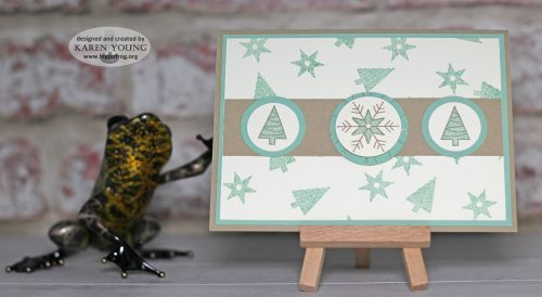 Stitched With Cheer Stampin' Up!