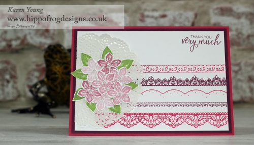 Delicate Details Stampin' Up! UK