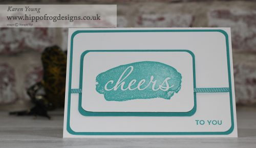 Reverse Words SAB Stampin' Up! UK
