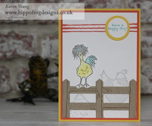 Hey Chick Stampin' Up! UK
