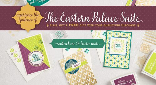 Eastern Palace Suite Stampin' Up! UK
