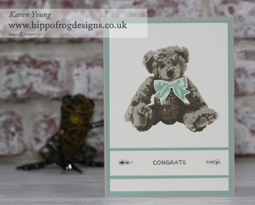 Baby Bear from Stampin' Up!