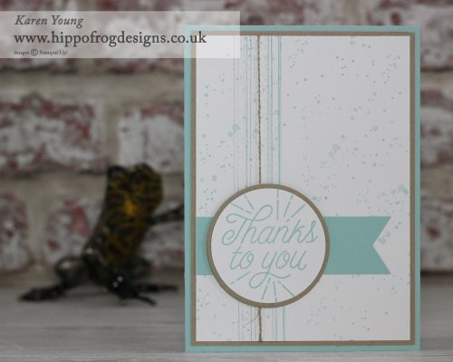 Designer Tin of Cards and Gorgeous Grunge from Stampin' Up!