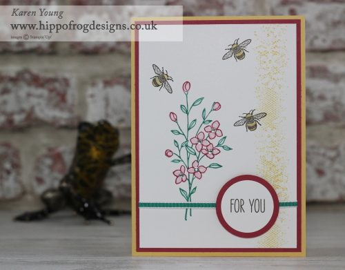 Stampin' Up! UK Touches of Texture