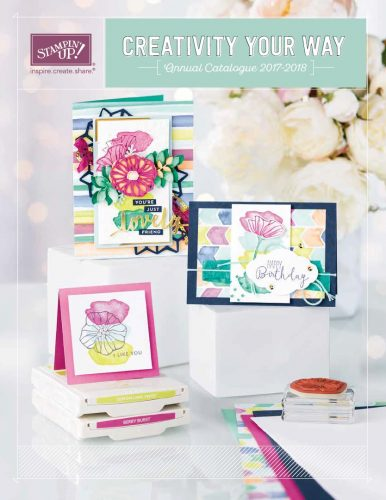 Stampin' Up! UK Annual Catalogue Cover 2017