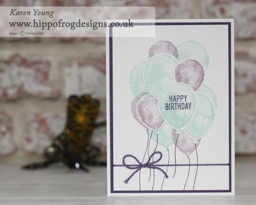 Stampin' Up! Balloon Builders
