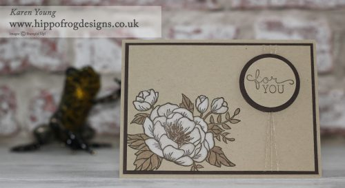 Stampin' Up! UK Birthday Blooms