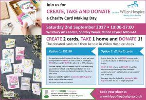 Willen Hospice Card Making Day