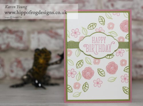 Stampin' Up! Happy Birthday, Gorgeous