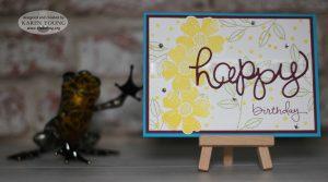 Stampin' Up! Flower Shop