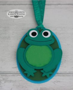 Stampin' Up! Frog Punch Art