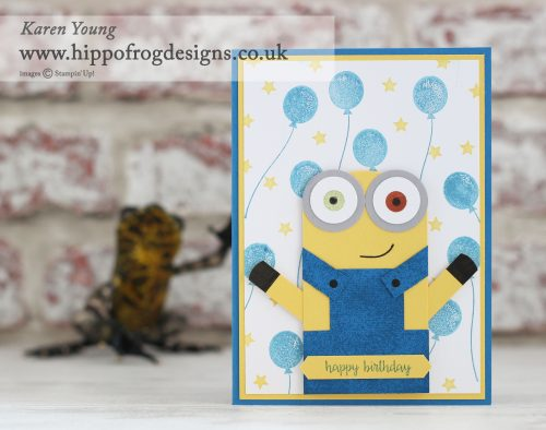 Stampin' Up! Punch Art Minion