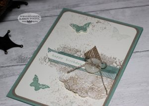 Stampin Up Touches of Texture