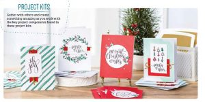 Stampin' Up! Watercolor Christmas Project Kit