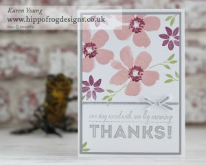Stampin' Up! One Big Meaning with HIPPOFROG Designs