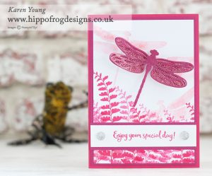Stampin' Up! Butterfly Basics with HIPPOFROG Designs