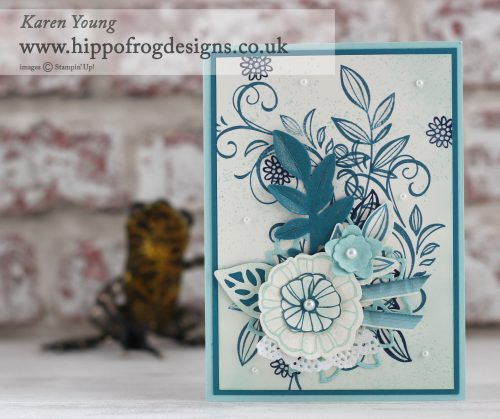 Stampin' Up with HIPPOFROG Designs - Falling Flowers