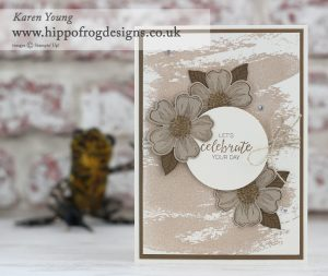 Stampin' Up! Flower Shop and Blossom Builder with HIPPOFROG Designs
