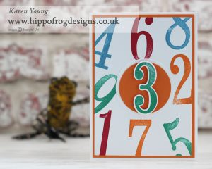 Stampin' Up! Number of Years with HIPPPOFROG Designs