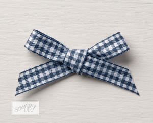 Gingham Ribbon from Stampin' Up!