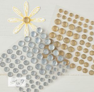 Faceted Gems from Stampin' Up!