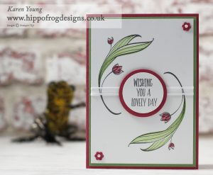 Stampin' Up! Lovely Wishes with Karen Young at HIPPOFROG Designs
