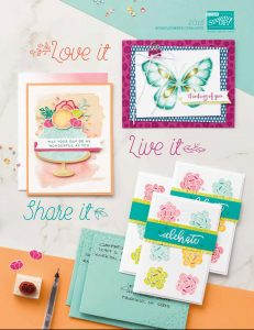 Stampin' Up! Spring Summer Catalogue Cover