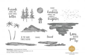 Stampin' Up! Waterfront Stamp Set