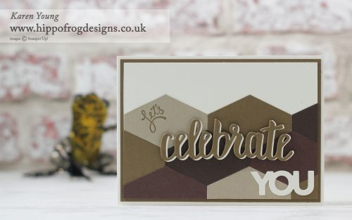 Stampin' Up! Celebrate You with HIPPOFROG Designs