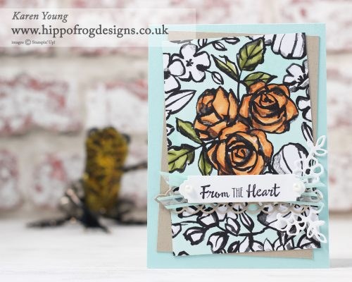 Stampin' Up! Petal Passion Suite with HIPPOFROG Designs