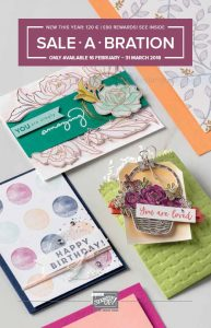 Stampin' Up! Sale-a-Bration 2nd Release