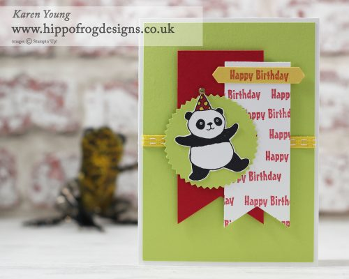 Stampin' Up! Party Pandas with HIPPOFROG Designs