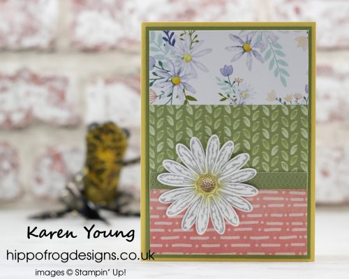 Delightful Daisy from Stampin' Up! with HIPPOFROG Designs