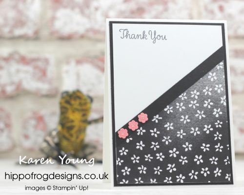Petal Passion DSP from Stampin' Up! with HIPPOFROG Designs