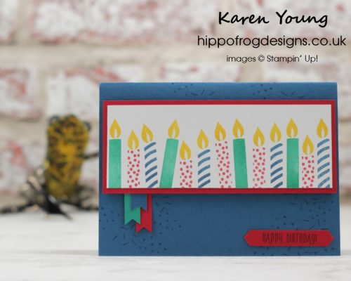 Picture Perfect Birthday from Stampin' Up! with HIPPOFROG Designs