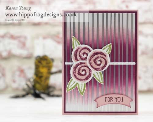 SAB Springtime Foils from Stampin' Up! Project from a HIPPOFROG Designs Card & Cuppa Class