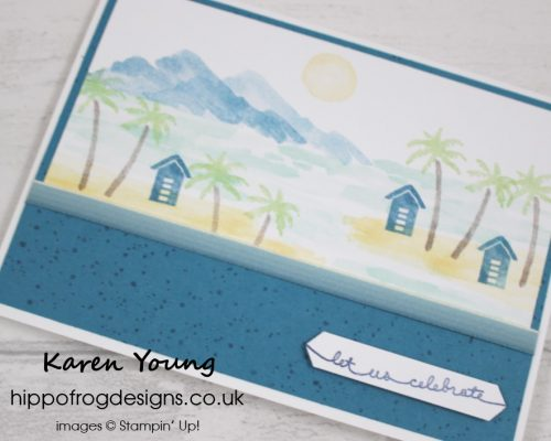 Waterfront Stamp Set from Stampin' Up! with HIPPOFROG Designs