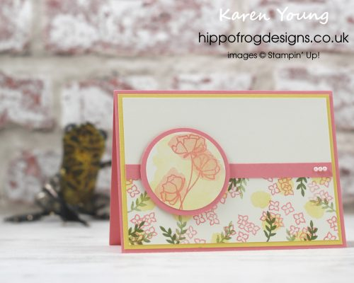 Share What You Love Suite from Stampin' Up! A Card & Cuppa project designed by Karen Young at HIPPOFROG Designs