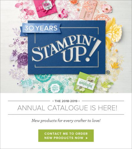 Stampin' Up! Annual Catalogue 2018 Cover