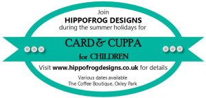 Card & Cuppa for Children with Karen Young at HIPPOFROG Designs