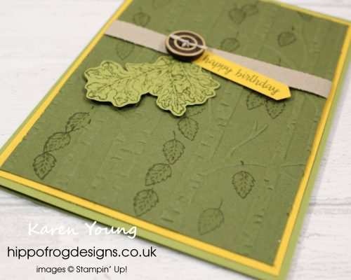 Lovely as a Tree Class. Project designed by Karen Young at HIPPOFROG Designs