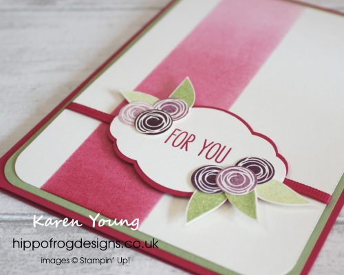 Shades of Lovely Lipstick Card. Designed by Karen at HIPPOFROG Designs