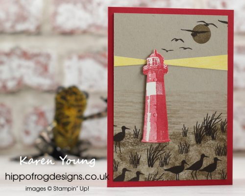 High Tide Card & Cuppa Project. Designed by Karen at HIPPOFROG Designs
