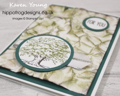 Lovely as a Tree grunge. Designed by Karen at HIPPOFROG Designs
